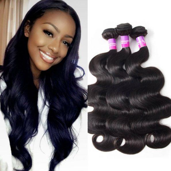 Brazilian Body Wave Virgin Hair 4 Bundles High Quality