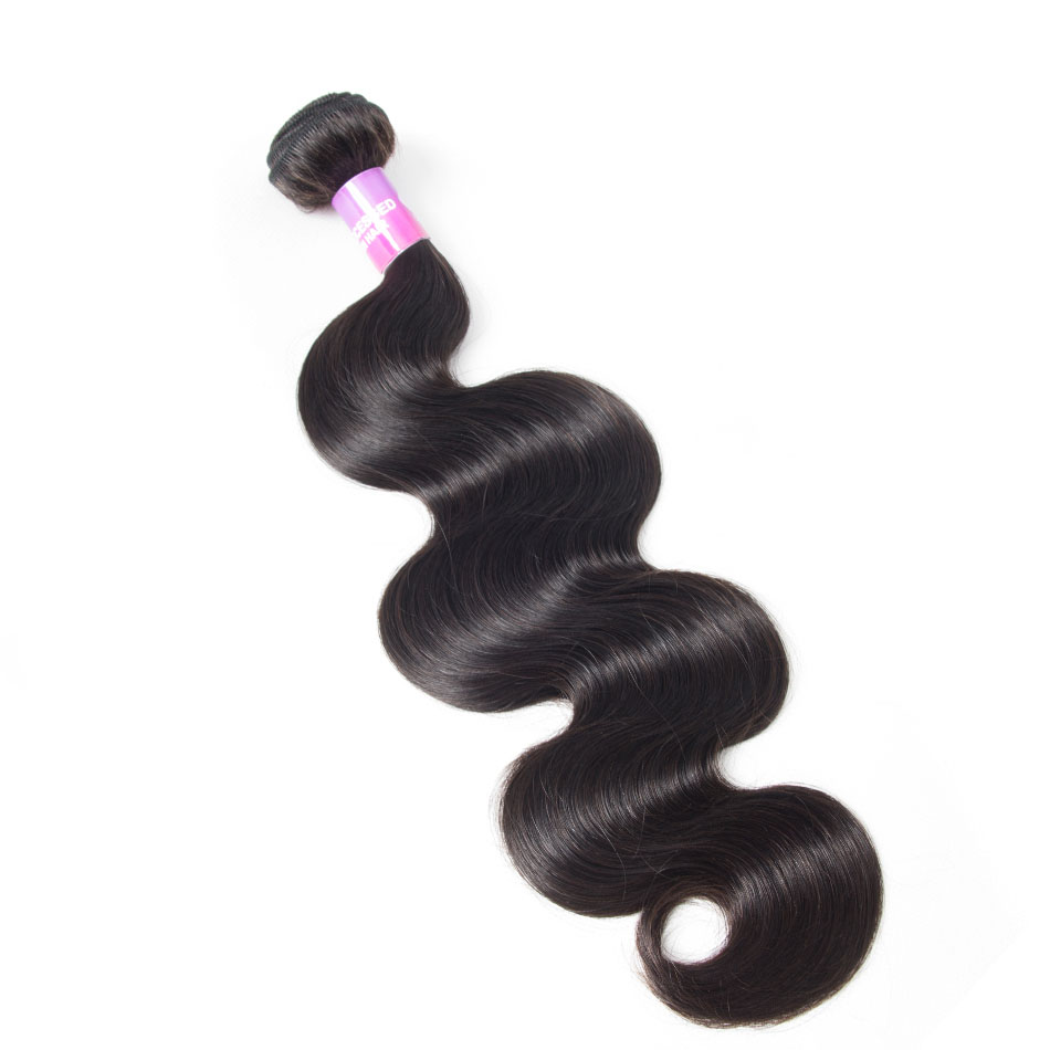 Brazilian Body Wave Virgin Human Hair 1 Bundles 10-30 Inch