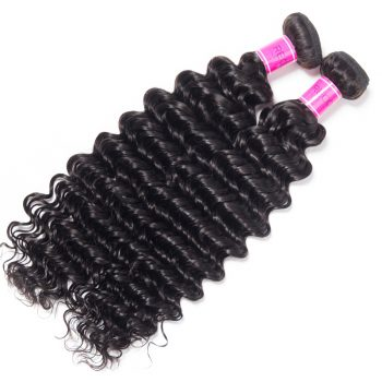 Brazilian Deep Wave Hair Sales 1 Bundle 10-28 inch