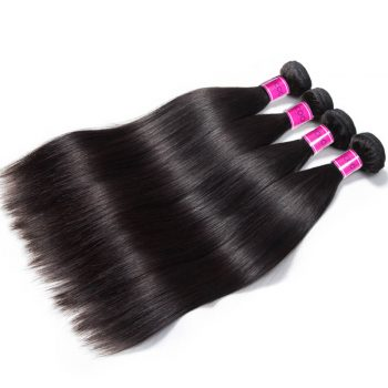 Brazilian Straight Hair 4 Bundles 100% Virgin Human Hair