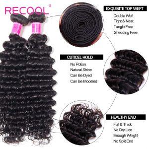 Deep Wave Hair Virginia Human Hair Bundles