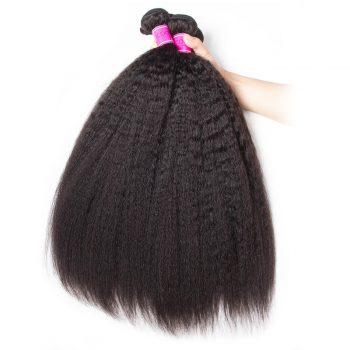 Kinky Straight Brazilian Virgin Hair 1 Bundle
