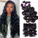 Malaysian 4 bundles with frontal