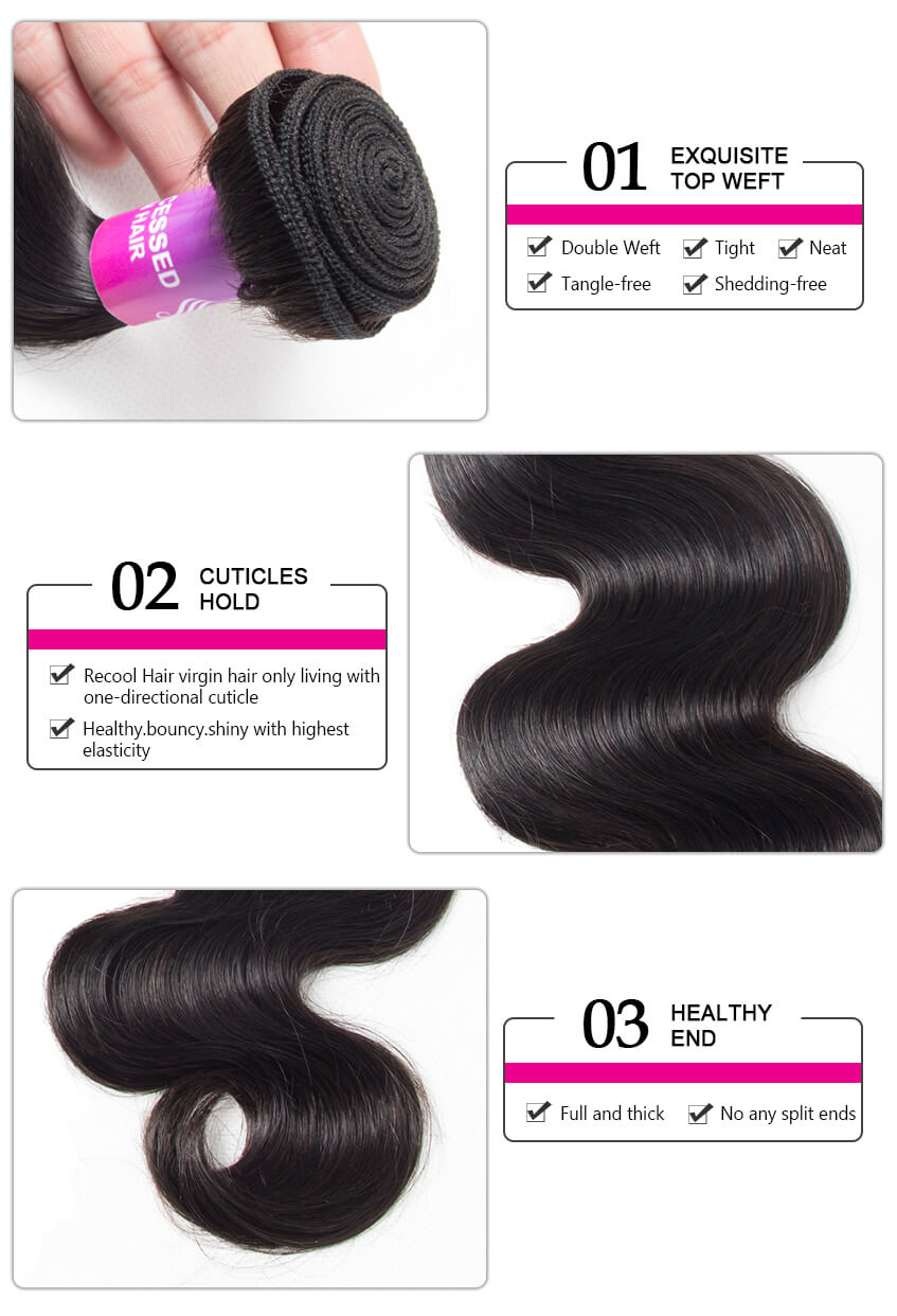 recool hair affordable virgin hair body wave bundle deals,virgin hair websites,cheap human hair weave for sale,buy best body wave Bundles virgin human hair extensions
