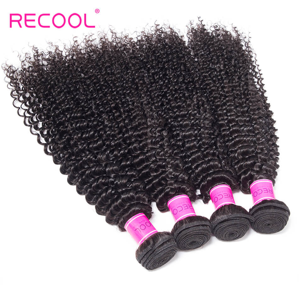 kinky curly wave hair bundles