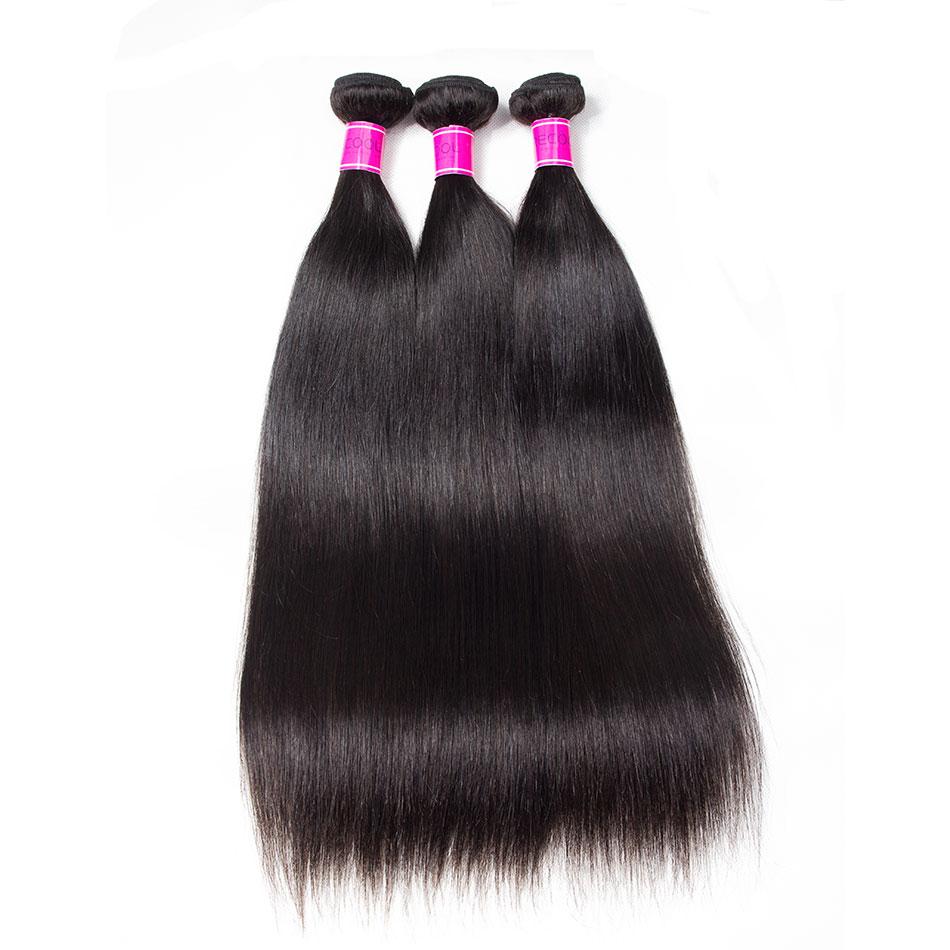 Recool Hair Malaysian Straight Hair 4 Bundles 100% Virgin Human Hair Weave Bundles 10A Premium Remy Hair