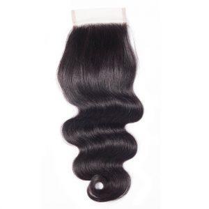Body Wave Human Hair 4x4 Lace Closure