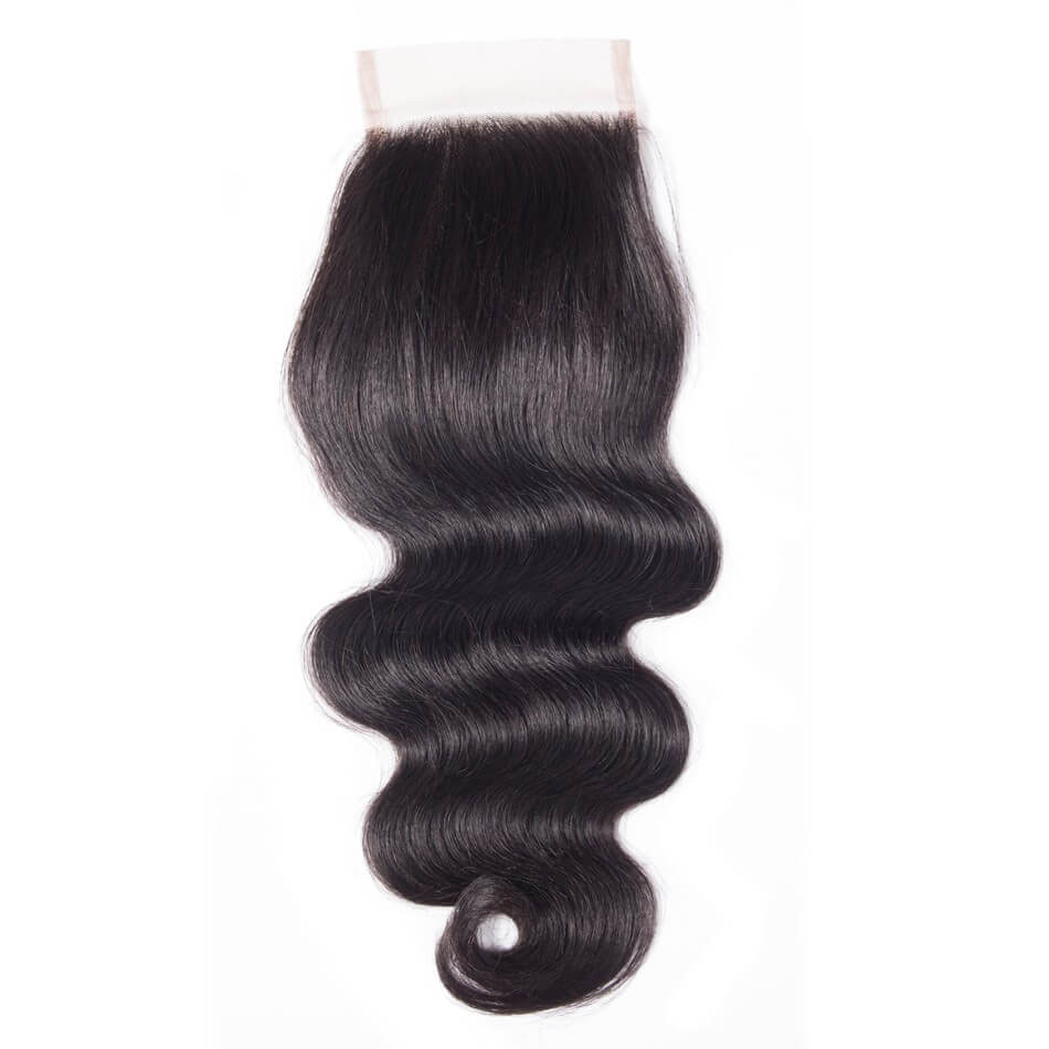 Body Wave Human Hair 4×4 Lace Closure