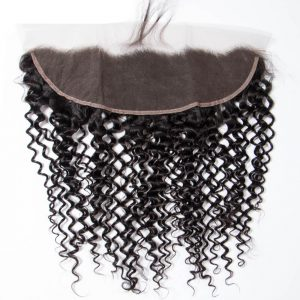 Hot Selling Brazilian Curly Wave 13x4 Lace Frontal Closure