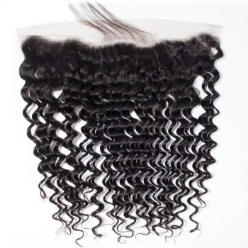 Hot Selling Brazilian Deep Wave 13x4 Lace Frontal Closure