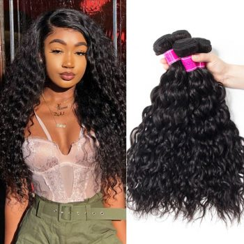 Malaysian Human Virgin Hair Water Weave 4 bundles