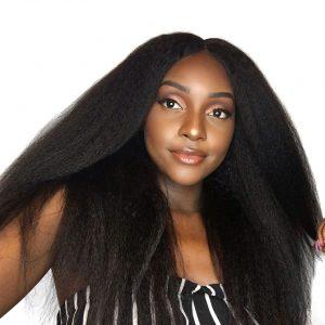 Malaysian Virgin Hair Kinky Straight Human Hair Extensions