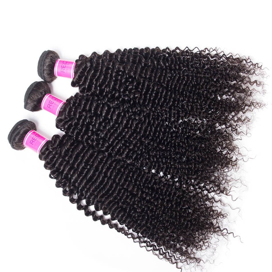 Peruvian Kinky Curly Virgin Hair 3 Bundles Deals