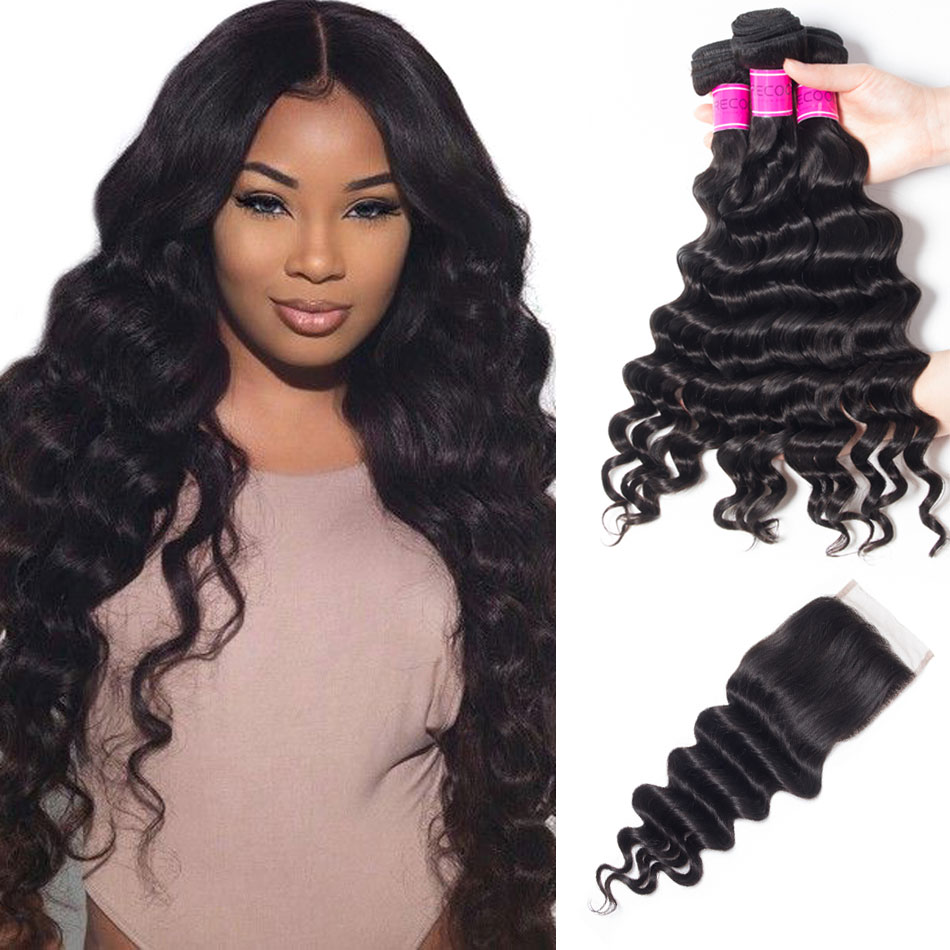 Peruvian-Virgin-Hair-3-Bundles-With-Loose-Deep-Wave-Closure