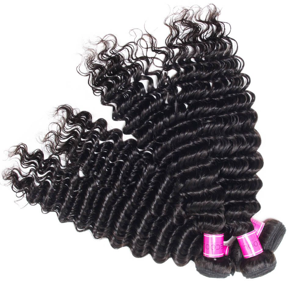 Peruvian Virgin Hair Deep Wave 3 Bundles Sale
