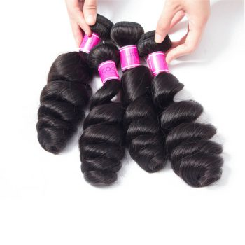 Peruvian Virgin Hair Loose Wave 4 Bundles 10A Unprocessed