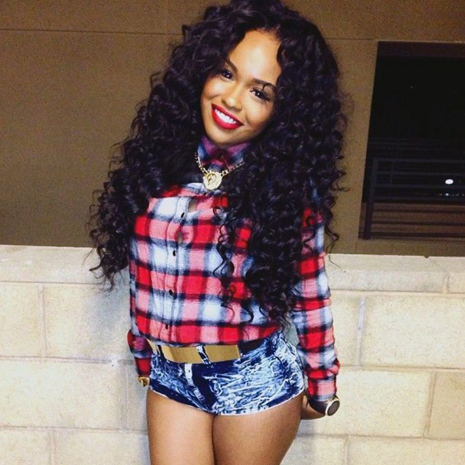 Peruvian Virgin Human Hair Deep Wave Hair Weave 4 Bundles