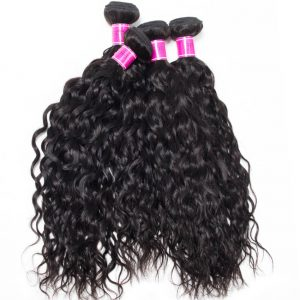 Peruvian Water Wave Virgin Human Hair 4 Bundles