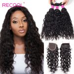 Sale Malaysian Wet and Wavy Bundles With Closure