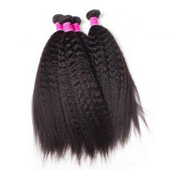 Wholesale Virgin Brazilian Kinky Straight Hair Bundles 10 PCS Lots