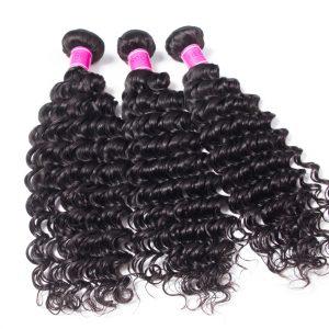 Wholesale Virgin Brazilian deep Wave Hair Bundles