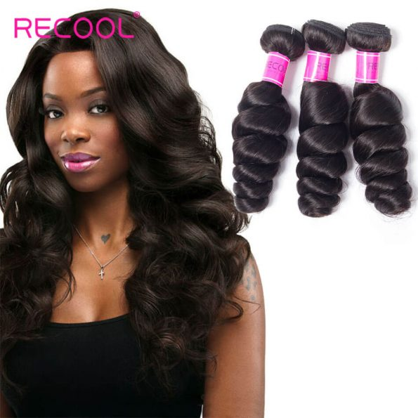 recool hair loose wave 3 bundles 3