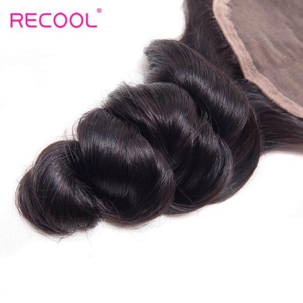recool hair loose wave closure 1