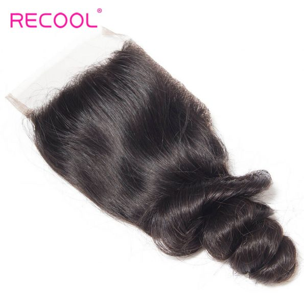 recool hair loose wave closure 10