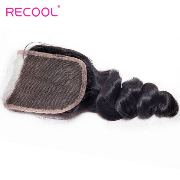 recool hair loose wave closure 2
