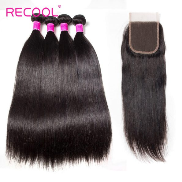 recool hair straight with closure 5