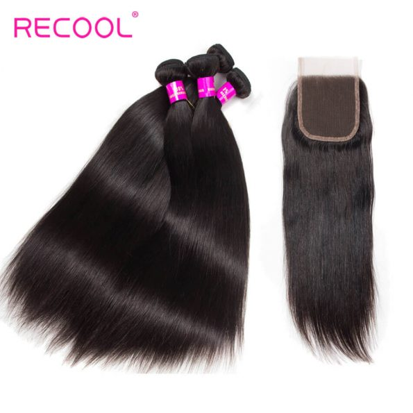 recool hair straight with closure 8