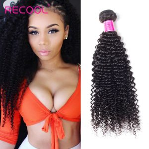 Recool Afro Kinky Curly Brazilian Natural Hair Extensions