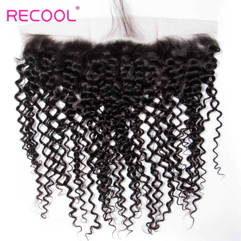 Hot Selling Brazilian Curly Wave 13*4 Lace Frontal Closure