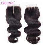 Peruvian Virgin Human Hair Body Wave 4 Bundles With Closure
