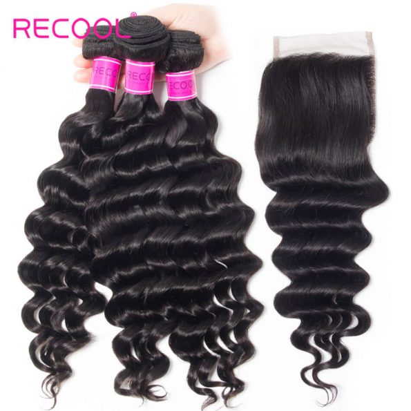 Recool hair loose deep human hair (2)