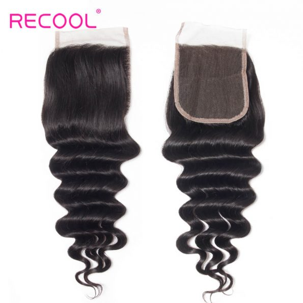Recool hair loose deep human hair (9)