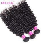 Malaysian deep curly 4 bundles with frontal