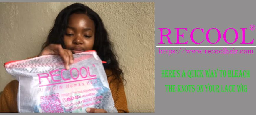 Here's A Quick Way To Bleach The Knots On Your Lace Wig