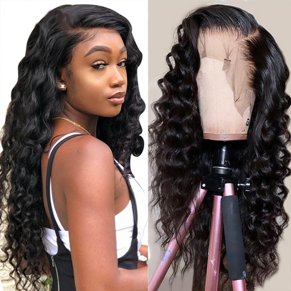 13×4 loose deep wave wig 1