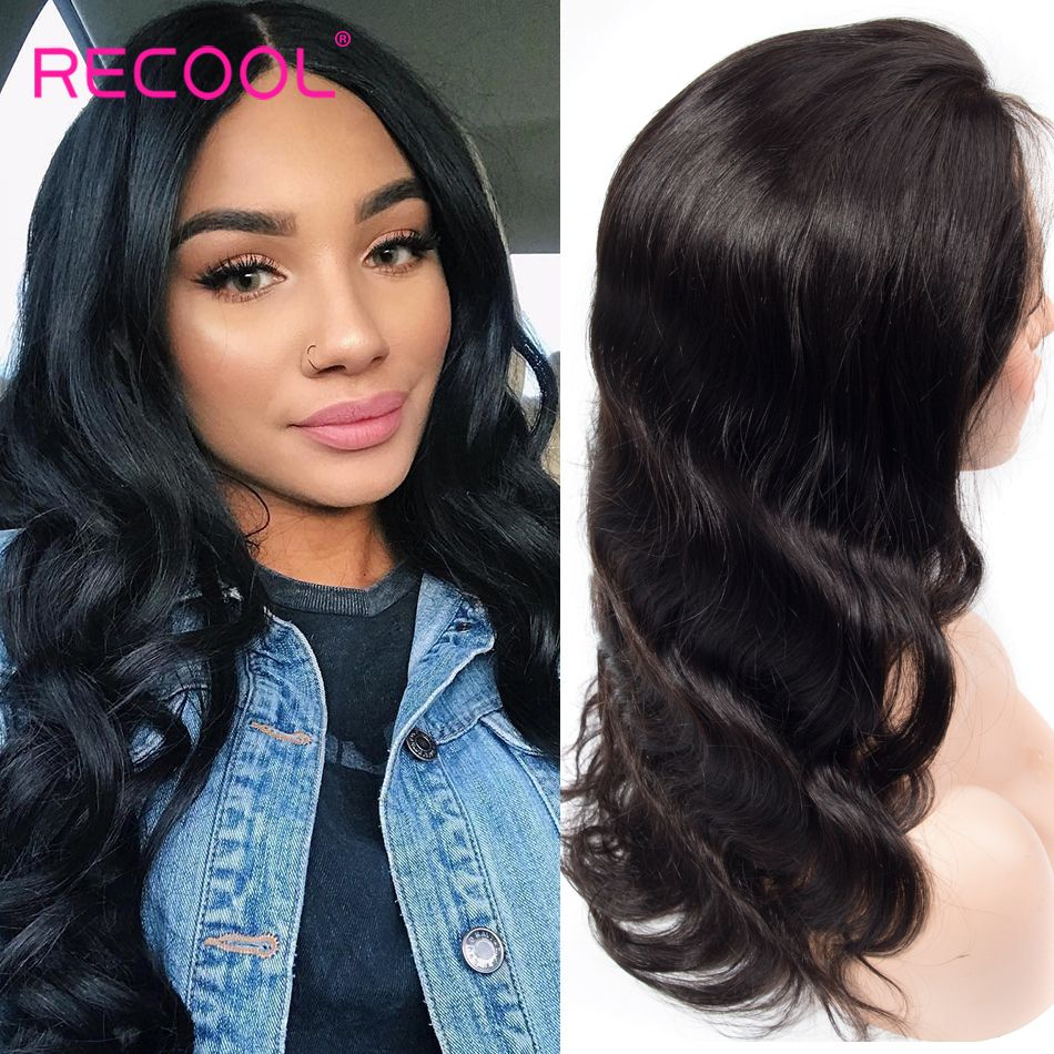 360 body wave lace front wig