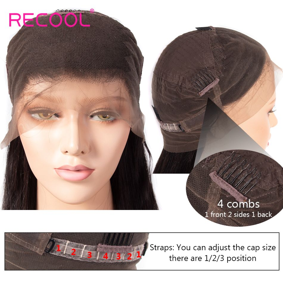 360 lace front human hair wig