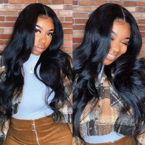6×6 straight wig