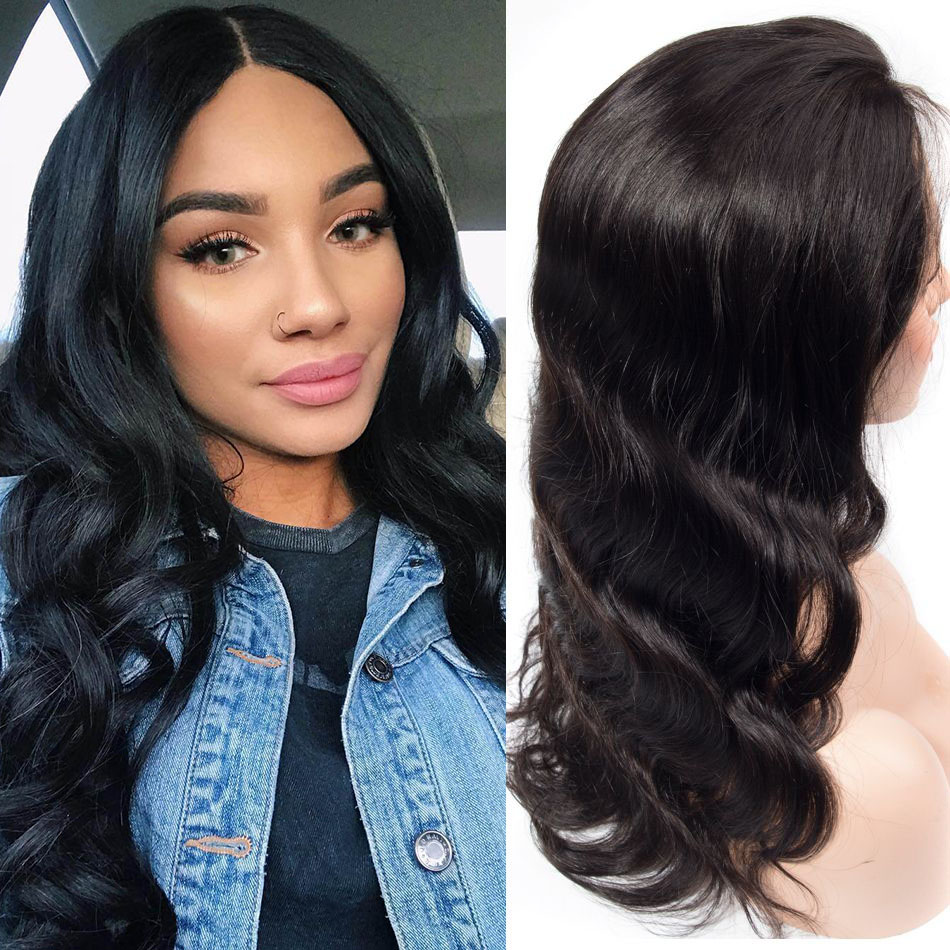 Lace Front Wig Body Wave Hair Pre Plucked With Baby Hair