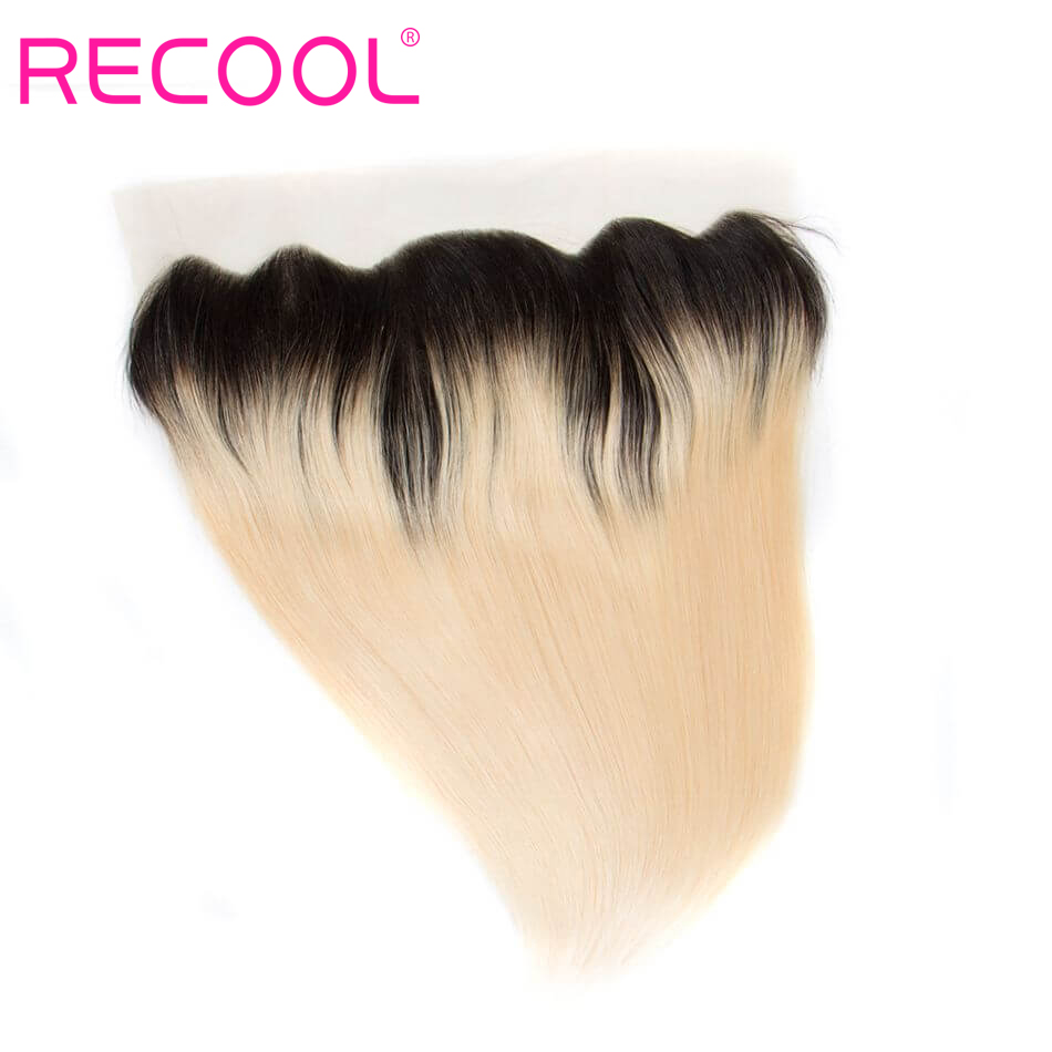 T1B 613 human hair Straight lace frontal