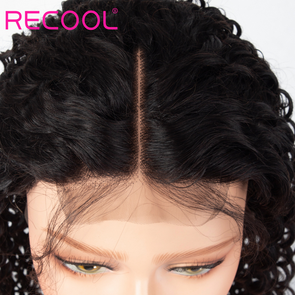 4x4 deep wave lace front wig