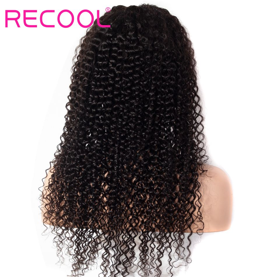 kinky curly wave lace front wig 2