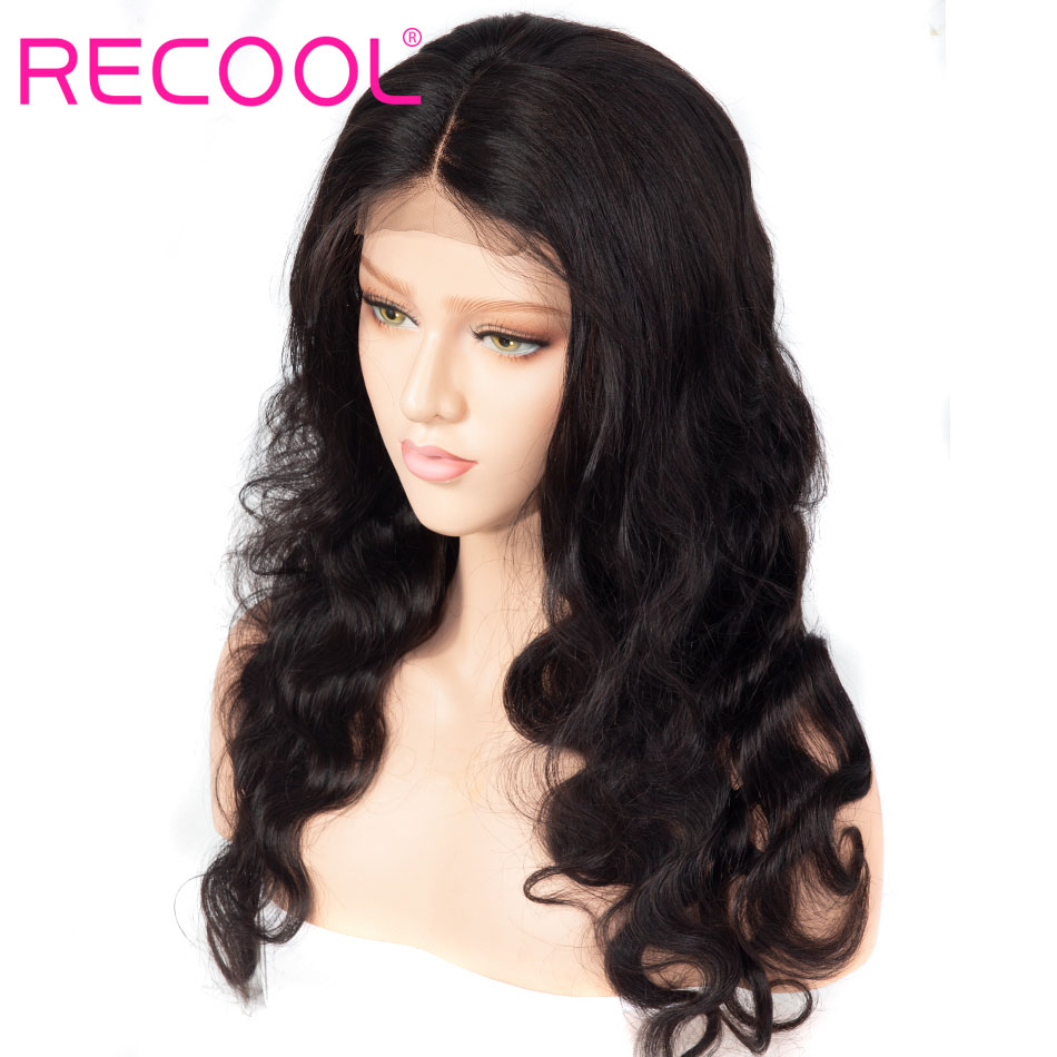 recool body wave lace front wig