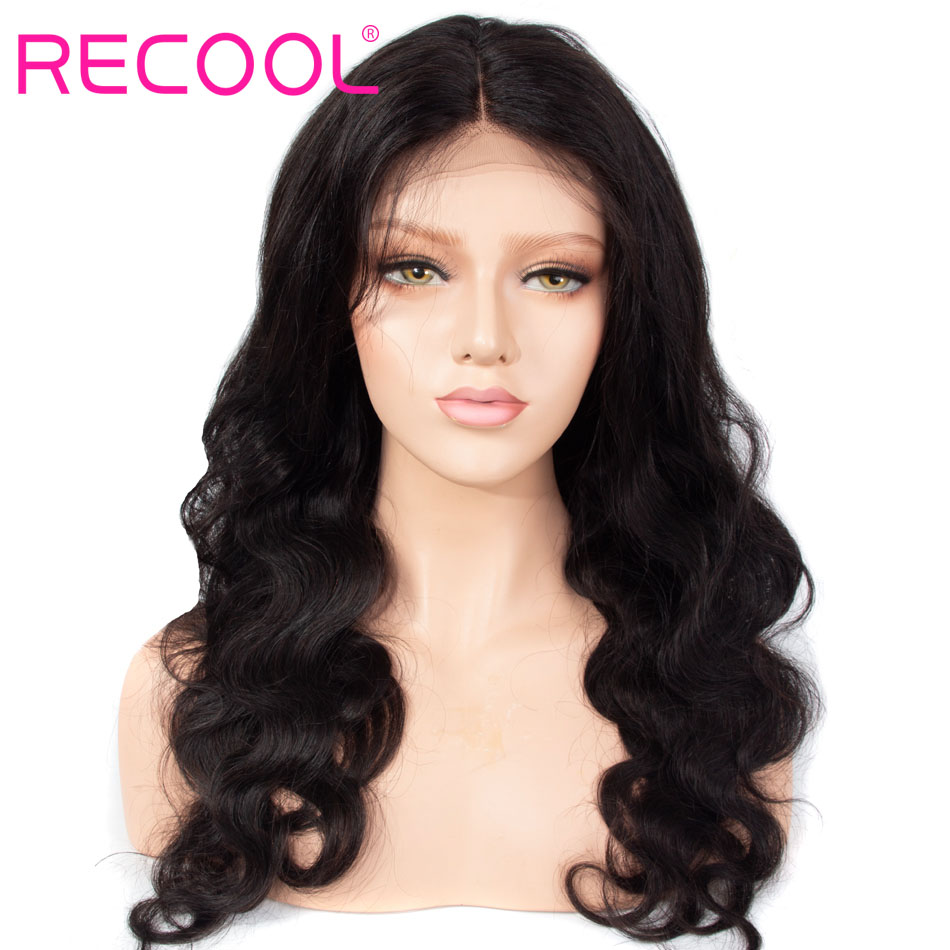 recool hair body wave lace front wig
