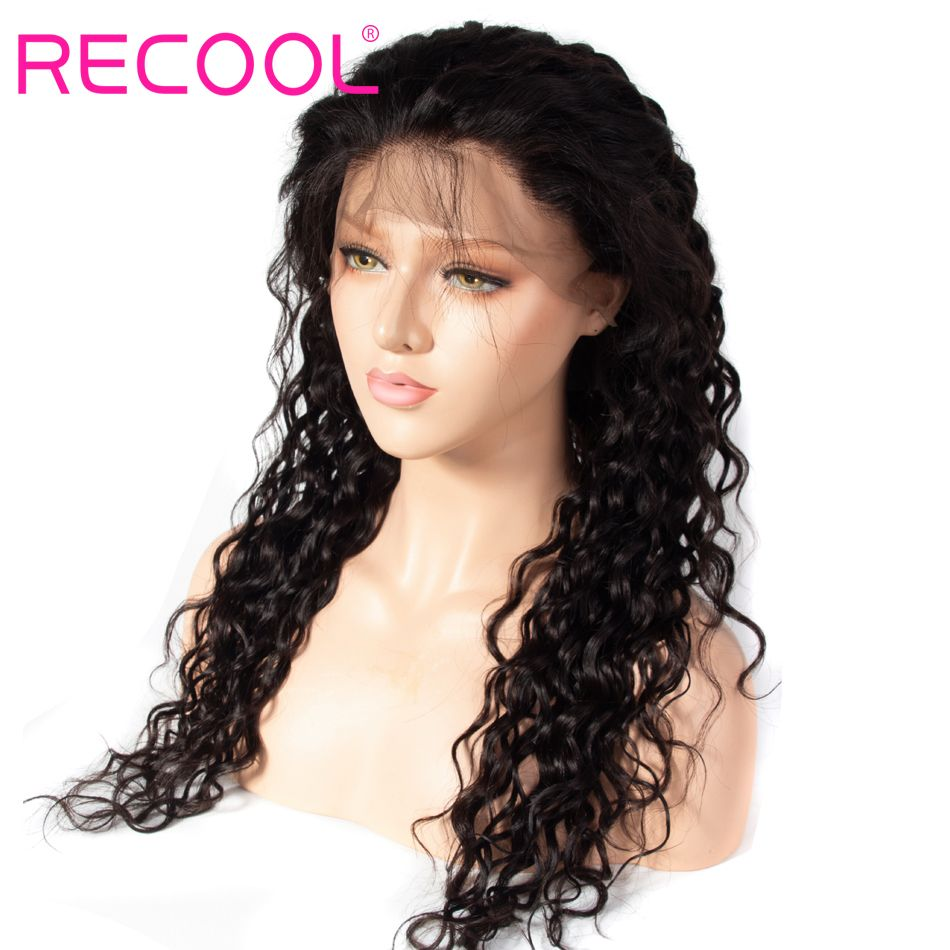 water wave lace front wig 2