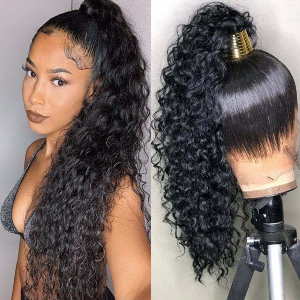 water wave wig 360 lace frontal wig 3